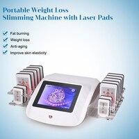 Lipo-máquina de perda de peso, laser 635nm, modeladora, reduz a celulite, diodo, lipolaser, equipamento de beleza