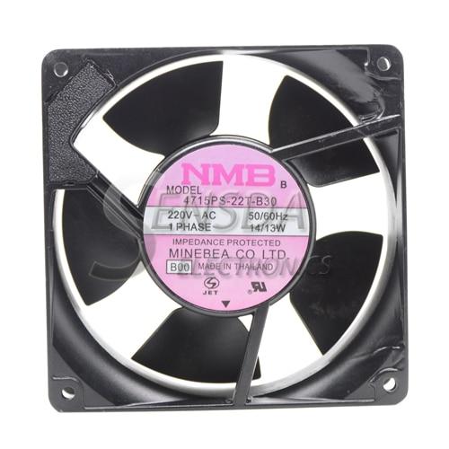 Original NMB 4715PS-22T-B30 12cm AC 220V 120*120*38 mm aluminum frame server inverter cooling fan