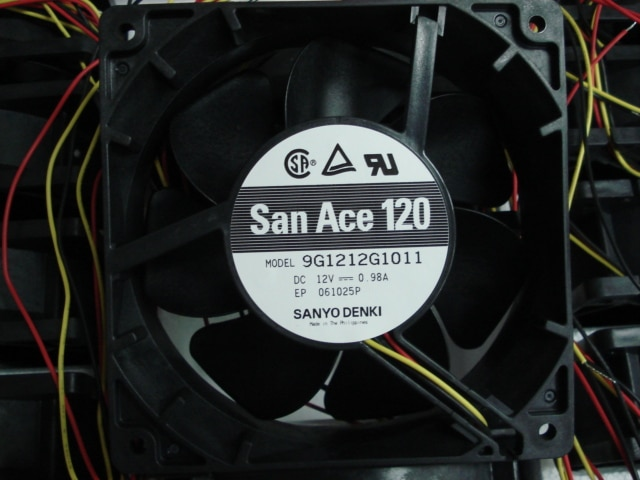 New Original SANYO 9G1212G1011 DC12V 0.98A 12CM 120*120*38MM double ball Cooling Fan