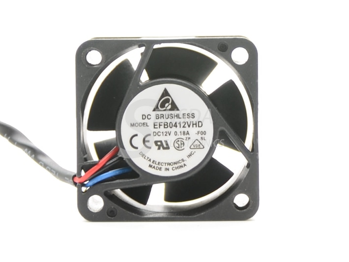 Wholesale Original Delta EFB0412VHD 40 12V 0.18A 3-P Three Line server inverter cooling fan