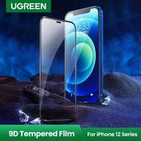 Ugreen-iPhone用スクリーンプロテクター,iPhone 12 pro max用保護ケース,12 mini 9d,iPhone 12 11 pro max